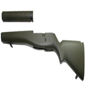 ABS Stock for M14 Series (OD Green) A272