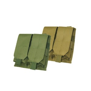 M4/M16 Double Magazine Pouch OD Green (E015-G)