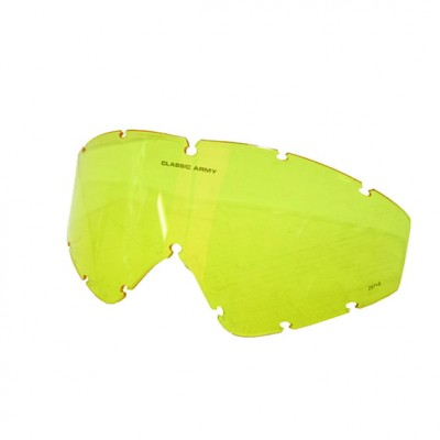 Classic Army Lens For Advanced Combat Goggle Yellow (E080-Y)