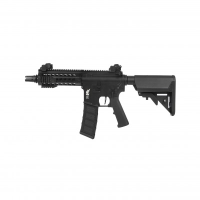 Apex Fast Attack 702 Keymod M4 Carbine AEG Airsoft Gun(Black) (AP0006)