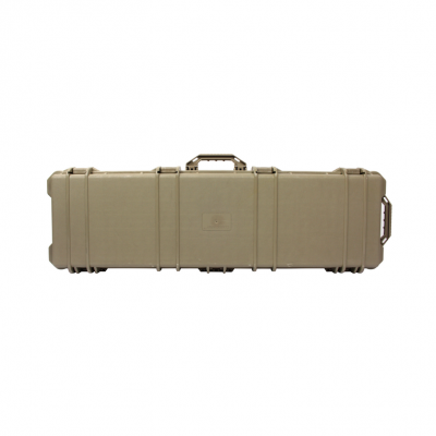 Hard Wheeled Gun Case Tan (E044-T)